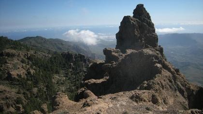 Am Aussichtspunkt Pico de las Nieves