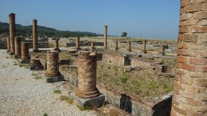 Ruins in Conimbriga