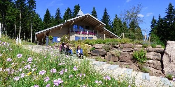 Die Berghütte Lauterbad