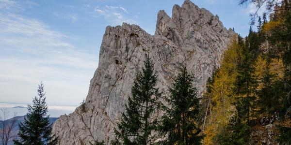 Südwand von Seeturm und Adlerspitze