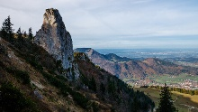 Staffelstein (1.512 m) - klettern mit wunderbarem Chiemseeblick
