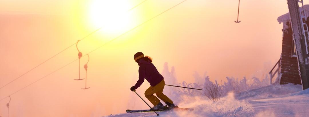 Skifahrt im Naturidyll Großer Arber