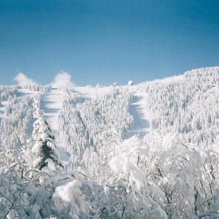 Winter am Gaberl_Blick auf die Pisten