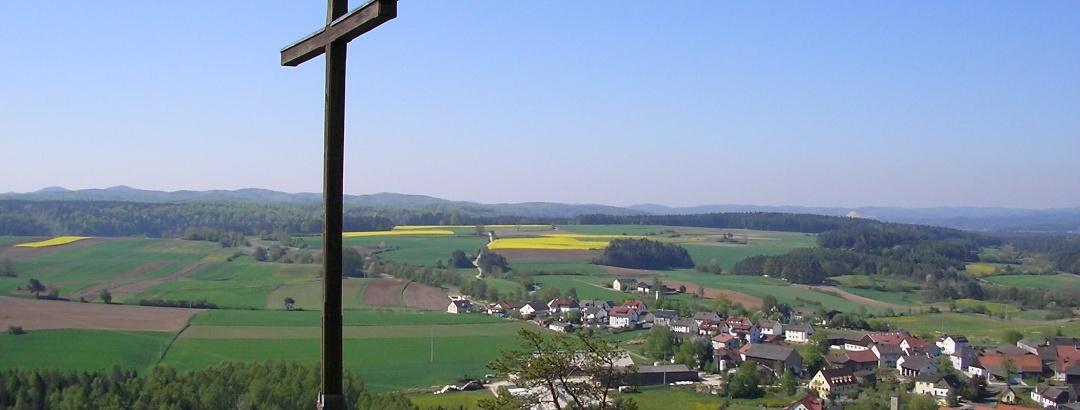 Ausblick vom Gottvaterberg