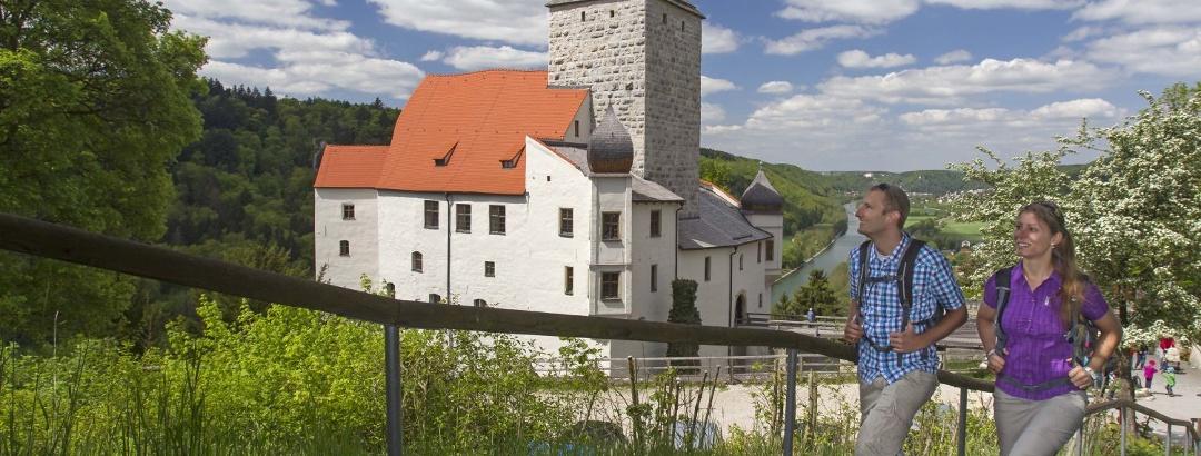 Wanderung zur Burg Prunn in Riedenburg im Altmühltal