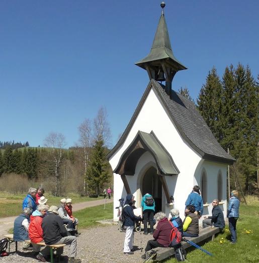 Himmelreich-Jakobusweg für ALLE (Abschnitt 1) Etappe 6 Hinterzarten-Breitnau
