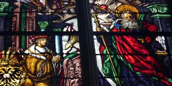 Freiburg Münster Jakobusfenster