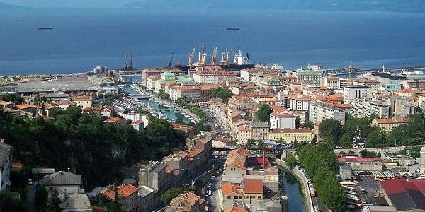Coastline of Rijeka