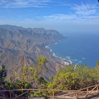 Auf der Aussichtsplattform des Cabeza del Tejo