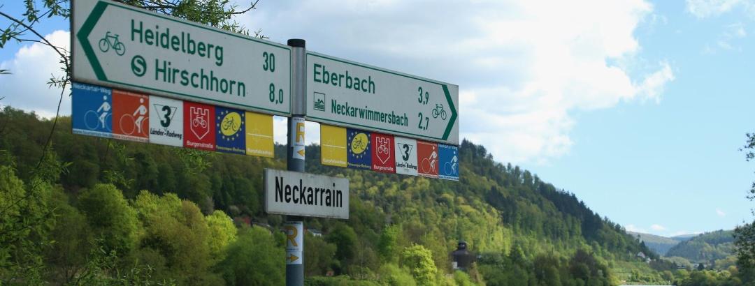 Der Neckartal-Radweg