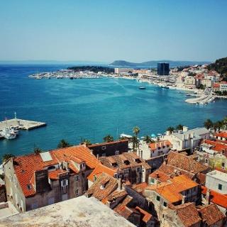 Hafenanlage von Split