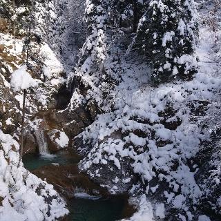 Bayrischzeller Wasserfall am Hochkreuth-Steigerl
