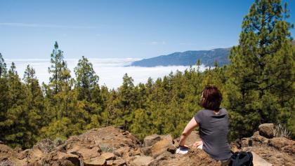 Pause über den Wolken im Teide-Nationalpark