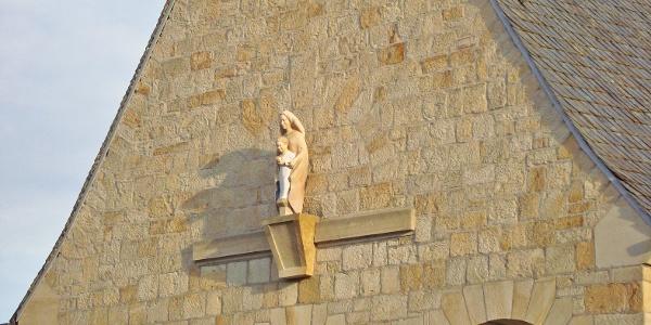Marienfigur der Kirche St. Marien