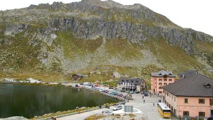 Auf dem Gotthardpass.