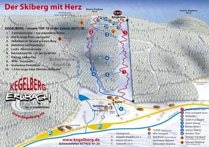 Pistenplan Kegelberg 2017