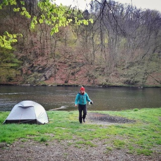 Ourthe wildcamp
