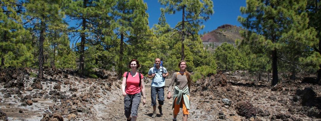 Senderismo en el Parque Nacional del Teide