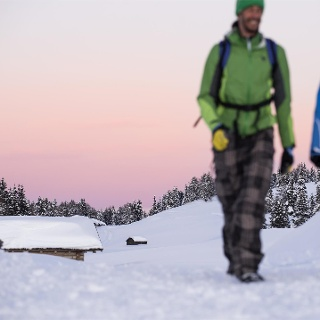 Winterwanderung über die Rodenecker-Lüsner Alm