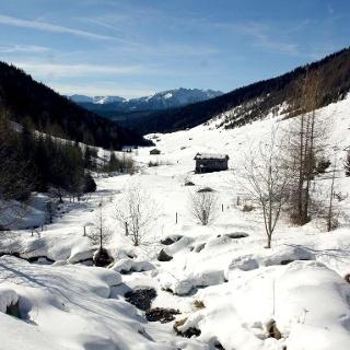 Ins Talele - Winterwanderung durch das Altfasstal bei Meransen