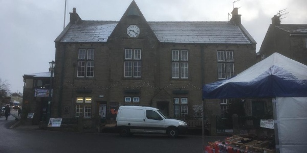 Grassington Town Hall.