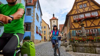 Auf dem Sportiven in Rothenburg