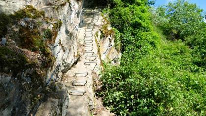 Klettersteig Rhein : Bergsteigen am romatischen rhein die schönsten touren der region