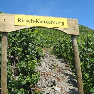 Einstieg Ritsch-Klettersteig