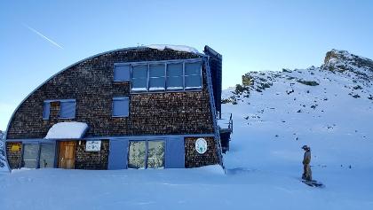 Stüdlhütte im Winter