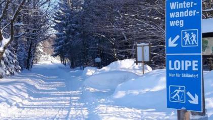 Winterwandern in Deutscheinsiedel