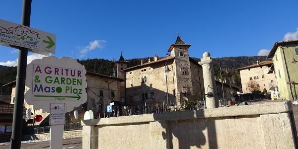 Startpunkt Schloss Arsio