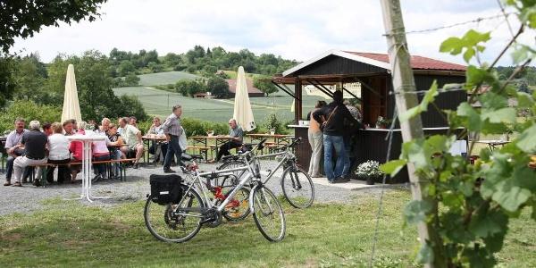 Weinausschank im Weinberg Flein