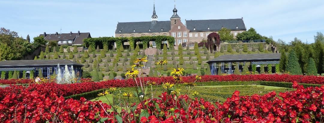 Kloster Kamp und Terrassengarten
