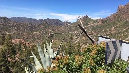 Berglandschaft Gran Canarias
