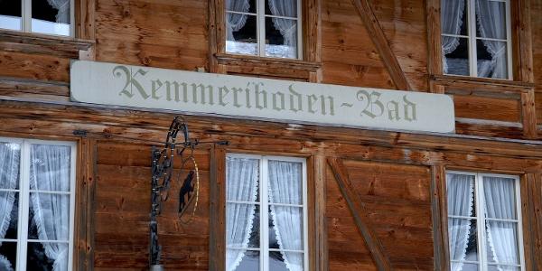 Landgasthof Kemmeriboden-Bad.