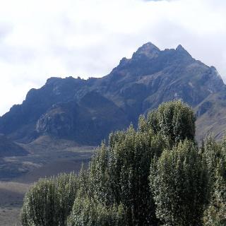 SO Grat von der Teleferico Bergstation