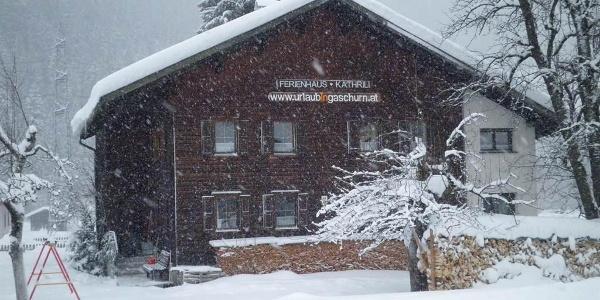 Skiurlaub im Ferienhaus Kathrili