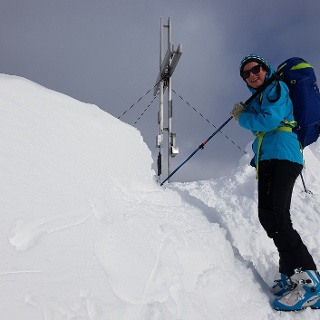 Gipfel der Vennspitze (2.390 m)