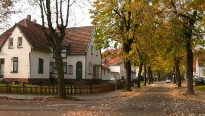 Herbstliche Altsiedlung