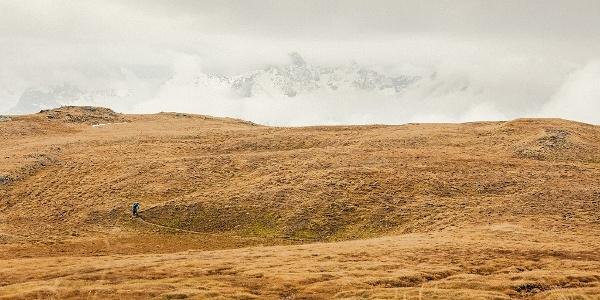 Aufstieg Alp Clünas
