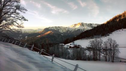 Skitour Rossfeld Waldtour