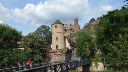 Wanderer bei Wertheim