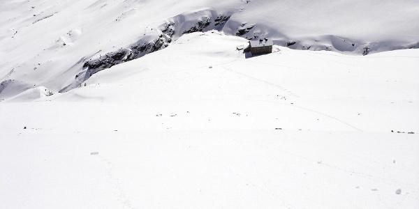 Martin Busch Hütte Winter
