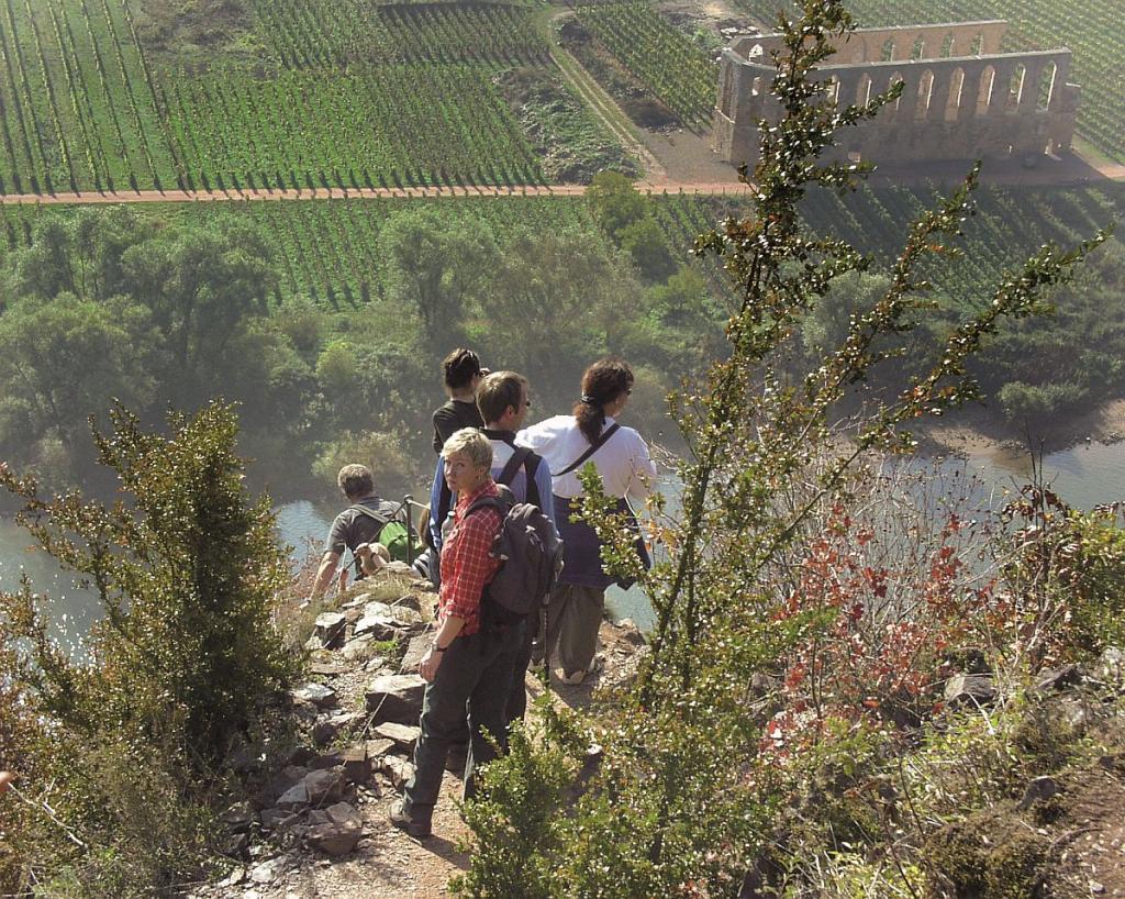 Klettersteig Mosel : Die schönsten klettersteige im moseltal