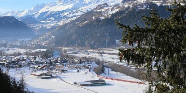 Panorama Sicht Castrisch