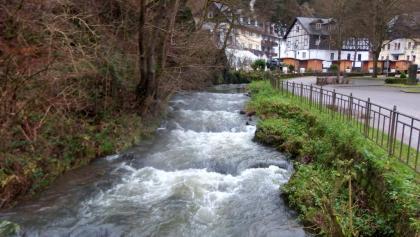 Der Brexbach in der Ortschaft Grenzau