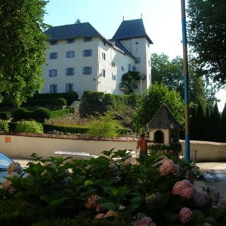 Schloss Drasing, Westansicht