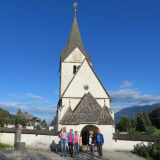 Die Jakobskirche in Ludmannsdorf
