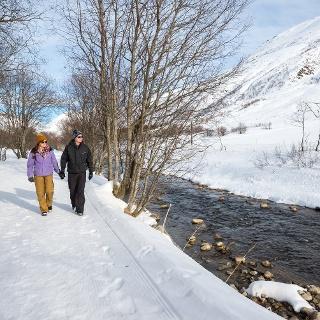 Winterwandern im Urserental