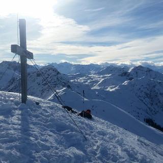 2. Gipfel, die Sonnspitze
